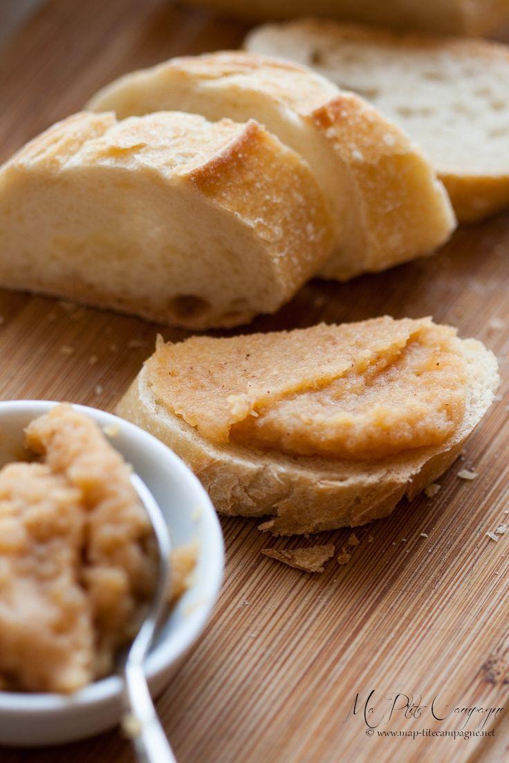 pâte à tartiner pommes et miel de Conticini