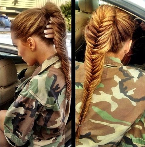fishbone hair styles 1000 images about tomboy style on pony tails 6601