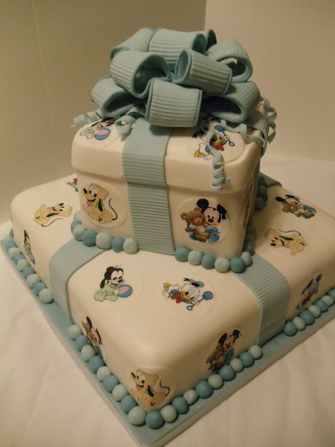 Disney Baby Shower Cakes |