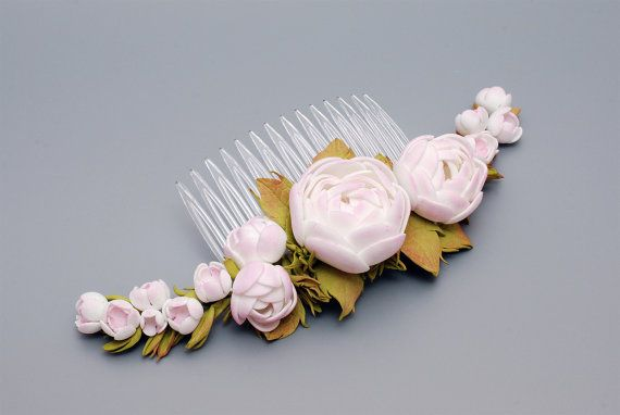 Flower comb handmade made to order foam eva от BeeJouByElena