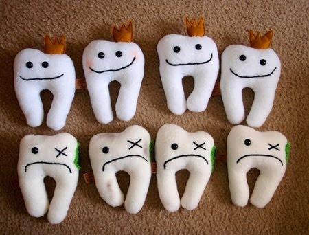 buenos dientes y malos dientes