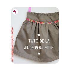 Tuto pour réaliser une jupe élastiquée au dos pour fillette de 2 à 10 ans!