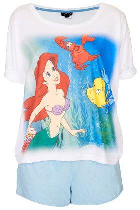 The Little Mermaid PJ Set - New In This Week  - New In