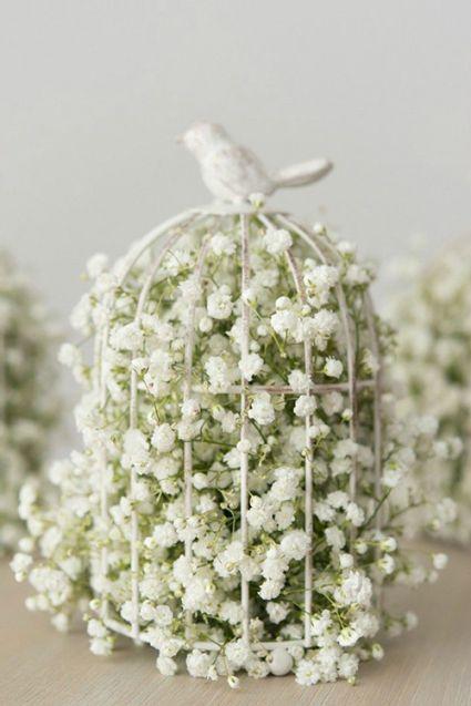 Detalles para decorar tu boda: jaulas antiguas #boda #wedding #decoracion #inspiracion #paniculata