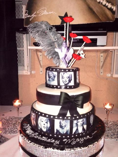 "Photo 1 of 19: Marilyn Monroe / Birthday ""Marilyn Monroe Inspired Birthday for Mayra"" | Catch My Party"