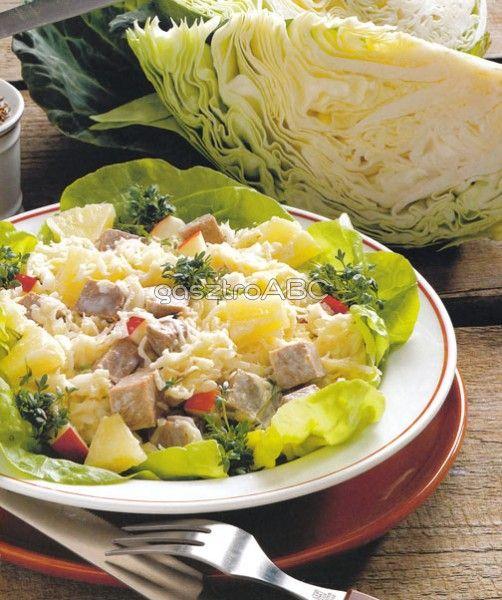 Savanyúkáposzta-saláta | Receptek