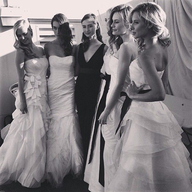 || Beautiful backstage image thanks to our guest stylist Mia of Vera Wang from Couture Gowns || http://timessquare.com.au/fashion/couture-gowns || #timessquareclaremont #stmdesignerbridalhightea #designer #gowns #dress #verawang #couture #bridal #bride #wedding #beautiful #backstage #bts #walabels #wadesigners #avionway