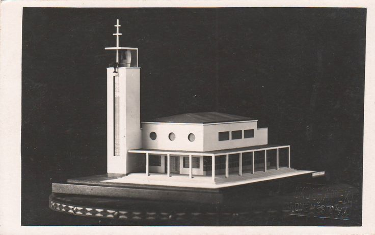 Freiwald, Jindřich - Husův sbor, Nové Město nad Metují (Hussite Assembly, Nové Město nad Metují) (1932-33) (Photo: Kulhánek)