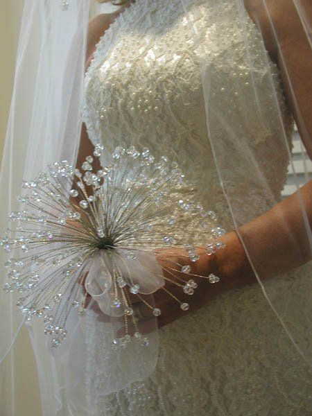 Never even thought about doing a bouquet like this...this is stepping out of the box for sure...