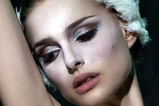 Love Natalie Portman's eye makeup here as the white swan