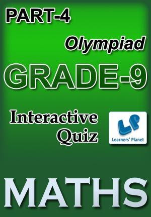 9-OLYMPIAD-MATHS-PART-4 Interactive quizzes & worksheets on Simplification and Square roots & cube roots for grade-9 Olympiad Maths students. Total Questions : 300+ Pattern of questions : Multiple Choice Questions   PRICE :- RS.61.00