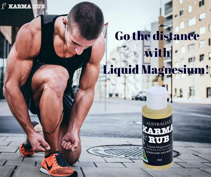 Improve muscle recovery and repair with karma Rub's Liquid Magnesium!  A 100% natural all Australian product. Free Shipping Australia Wide  https://www.karmarub.com/shop.html