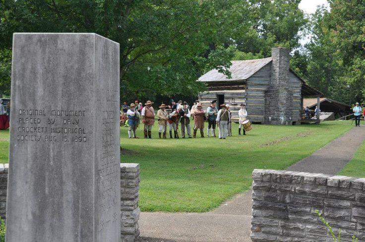 CROCKETT'S BIRTHDAY. David Crockett's birthday on Davy Crockett Birthday-August 17, was already celebrated this week-end at Davy Crockett Birthplace State Park at Limestone, Greene County, Tn.
