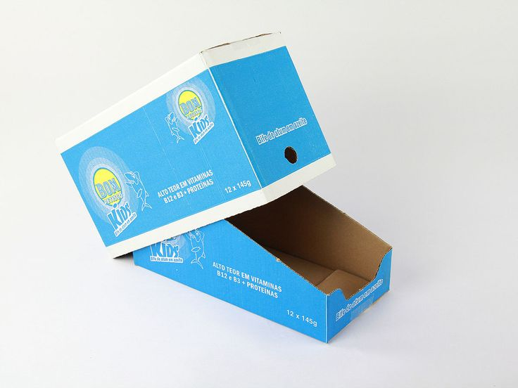 The « Shelf-Ready Packaging » can be an « American Box » or