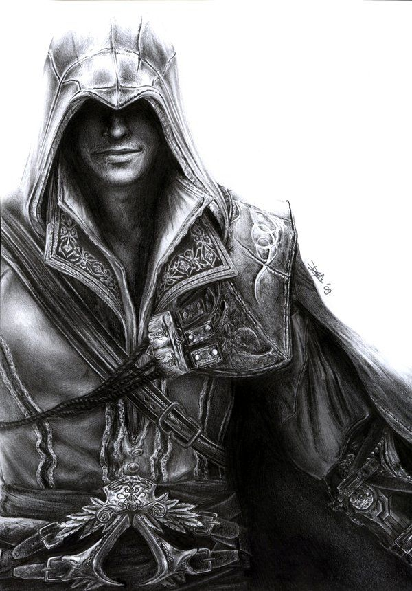 Assassin's Creed - Ezio by D17rulez.deviantart.com on @deviantART http://d17rulez.deviantart.com/art/Assassin-s-Creed-Ezio-139071611