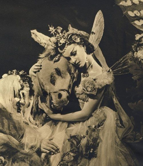 Vivien Leigh as Titania in A Midsummer Nights Dream, 1938.