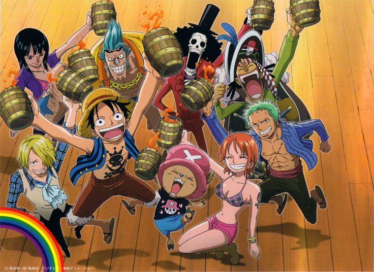 The Straw Hat Pirates!
