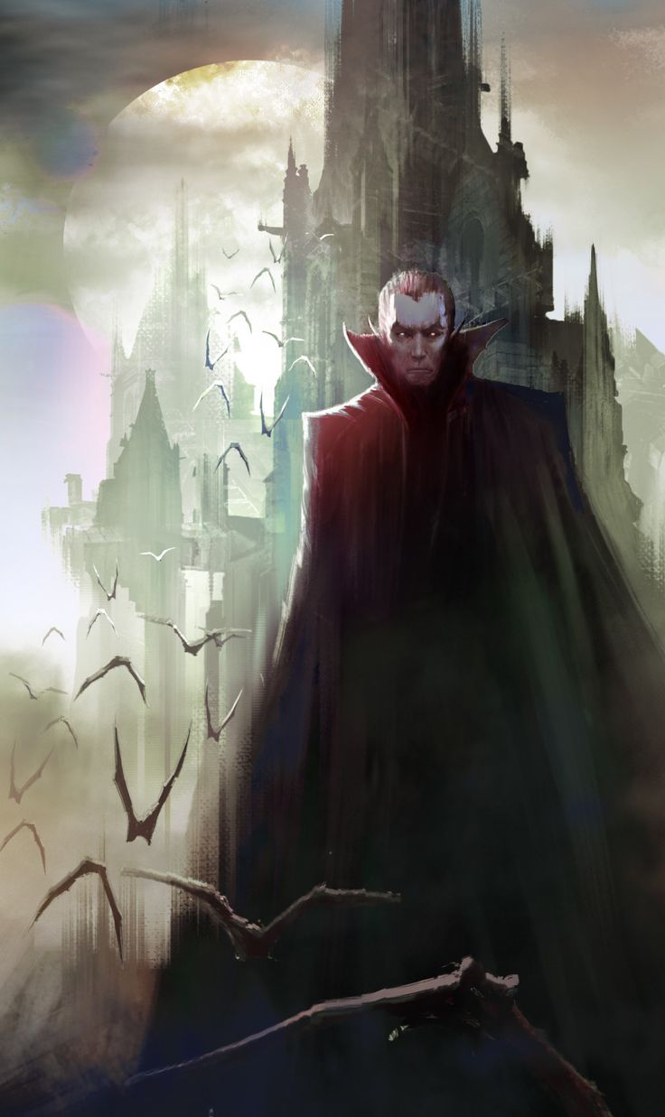 I am Strahd – Dungeons and Dragons fan art by Felix Ortiz