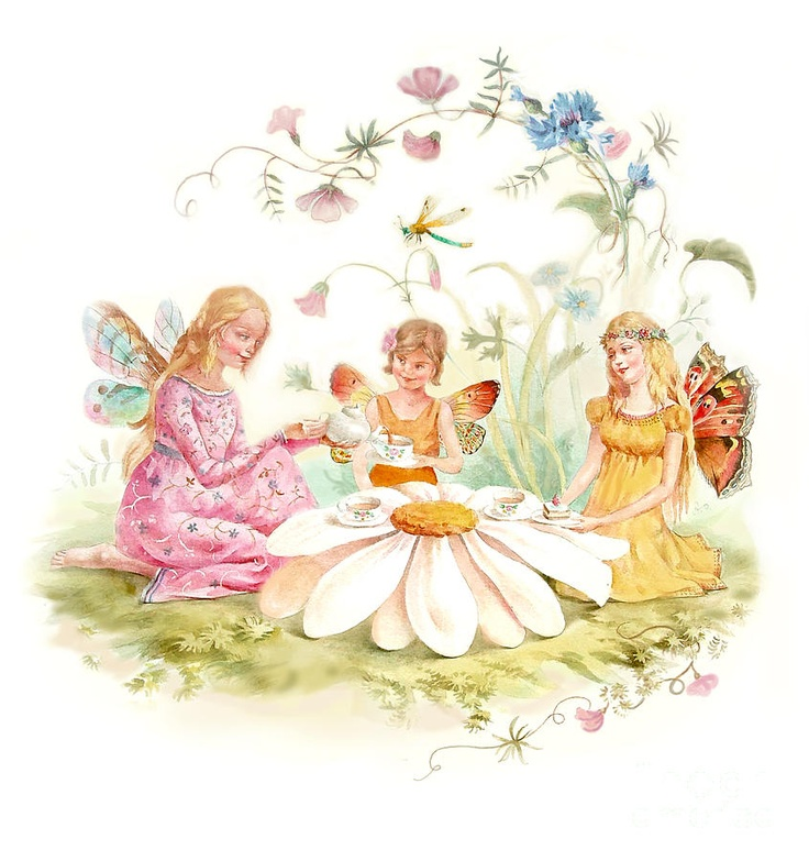 12 Best Vintage Fairy Images On Pinterest Fairies