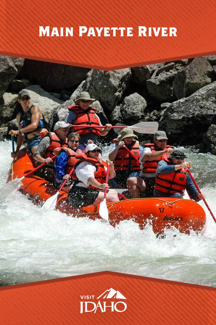 The Main Payette River Is A Classic Idaho Whitewater River With
