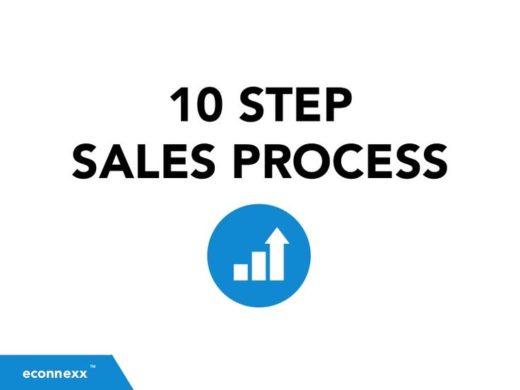 This 10 step sales process will help you map out the most efficient and effective way to target prospects, generate leads, nurture prospects and close more sal…