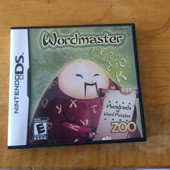 Nintendo ds wordmaster game Good condition Other