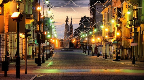 My city - Łódź, Poland