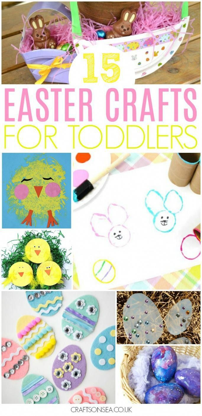 15 Easter Crafts For Toddlers To Make This Spring From Easter Eggs