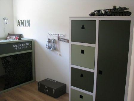 Stoere legerkamer 1