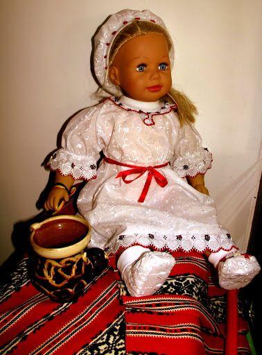 Botez traditional romanesc ... din dragoste pentru folclor! (55 LEI la cufarul-anastasiei.breslo.ro)