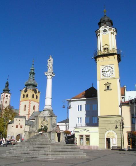 Banska Bystrica, main square