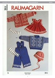 R3014-R3014 Jakke, genser, lue, seleskjørt, og bukse
