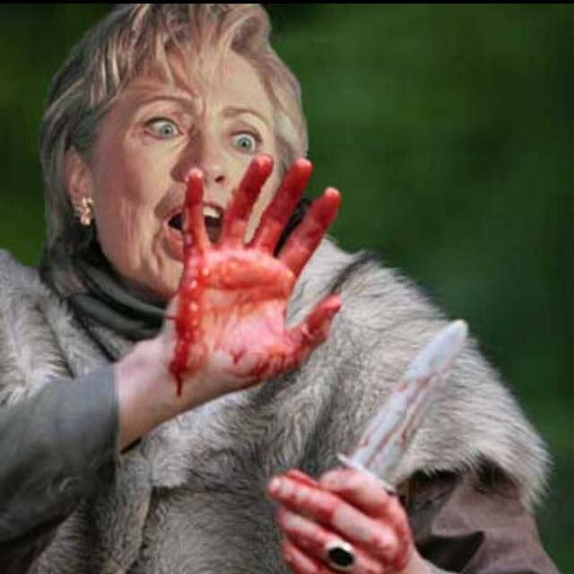 Hillary Clinton ...how much blood on her hands ...