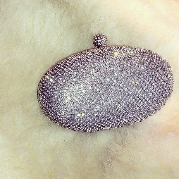 crystal minaudière - the perfect finishing touch to a bridal look!