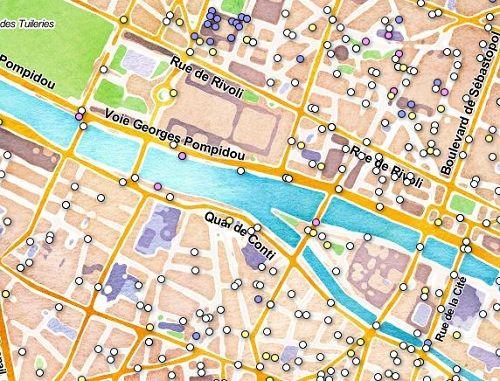 Open Data – Paristique une carte interactive pour tout savoir sur les rues de Paris