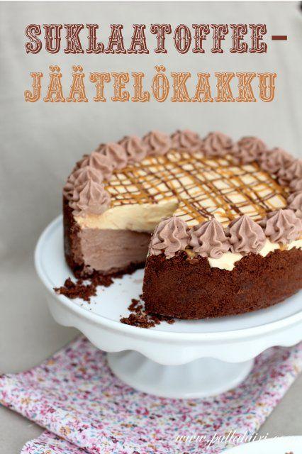 Pullahiiren leivontanurkka: Herkullinen Suklaatoffeejäätelökakku
