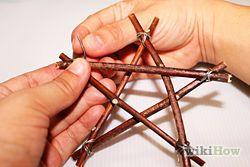 Make Twig Star Decorations - wikiHow