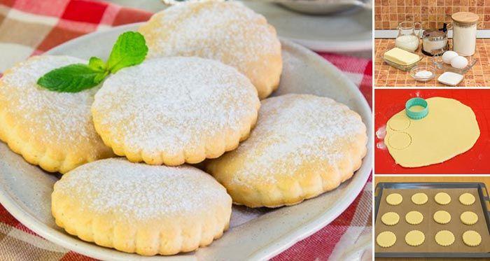 Výborné mliečne sušienky, ktoré si obľúbia hlavne deti. S týmito sušienkami sa vrátite do čias svojho detstva.