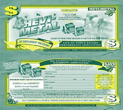 HEVI-Metal Rebates are Back! http://chicagolandmetronews.com/hevi-metal-rebates-are-back/
