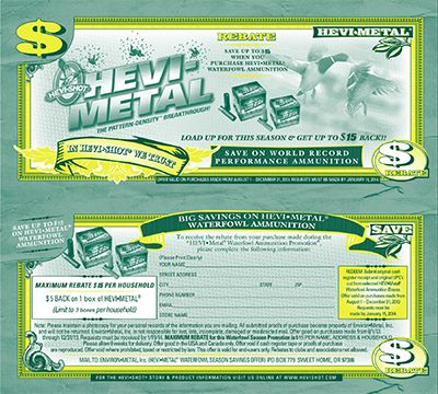HEVI-Metal Rebates are Back! http://chicagolandmetronews.com/hevi-metal-rebates-are-back/