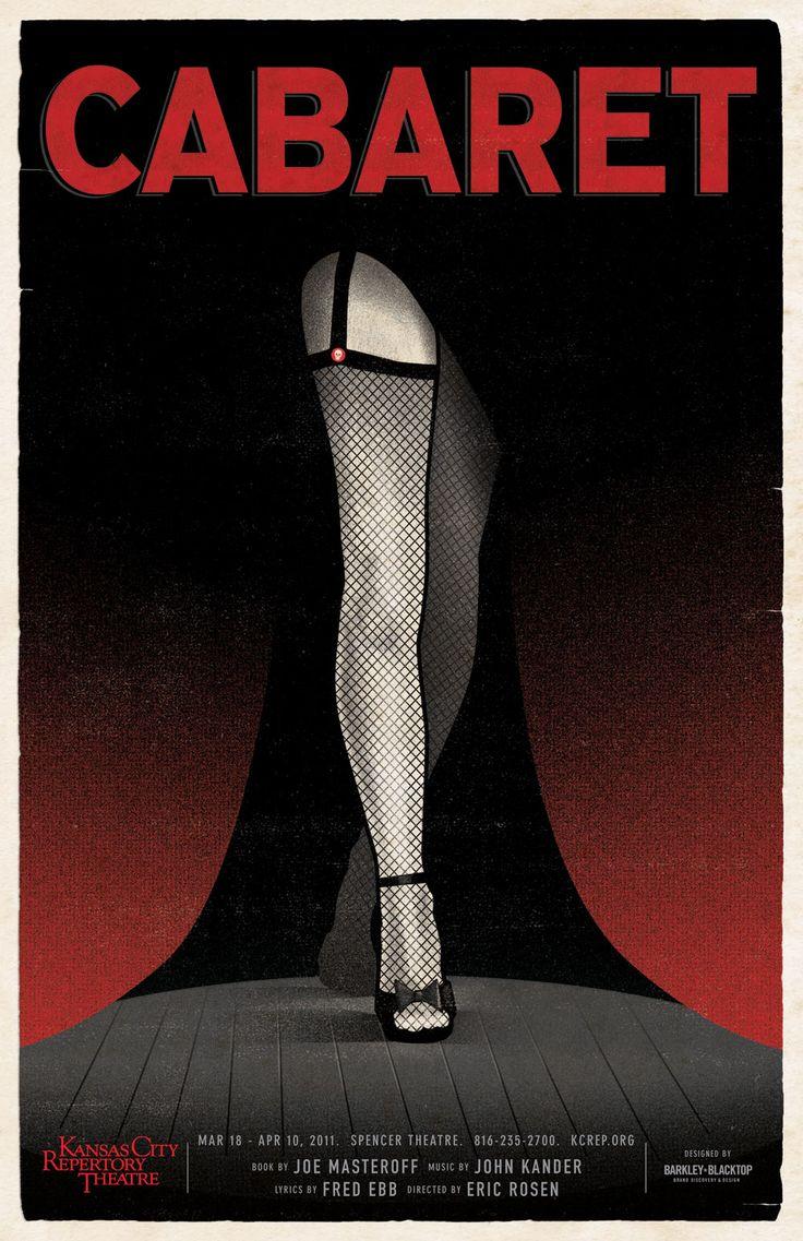 cabaret poster   Draw All Day: Cabaret Poster
