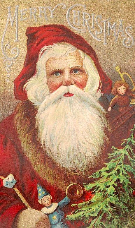 Santa *neat vintage Santa!jn