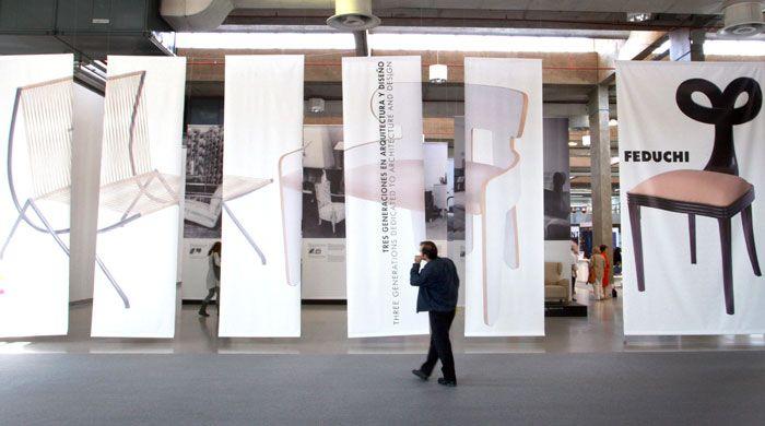 Feduchi: tres generaciones.  Feria Valencia muestra por primera vez el diseño vanguardista de los muebles creados Por Luis, Javier y Pedro Feduchi «  Noticias Habitat :: informacion sector del mueble