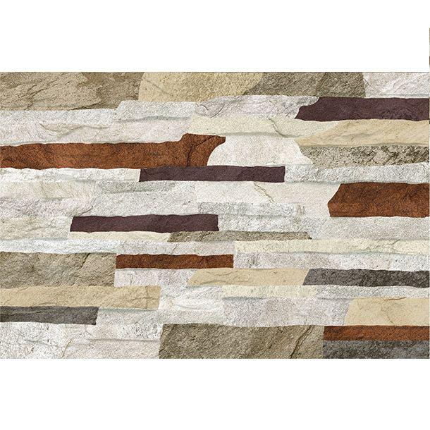 Caja con m2 30 x 45 cm tr fico semi intenso ideal - Paneles imitacion piedra bricodepot ...