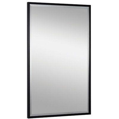 KEEN Beveled Black Framed Salon Station Mirror, available in 3 finishes. Salon Equipment. $175.00 + FREE Shipping! #beautysupply #hair #salon @ ProHairTools.com