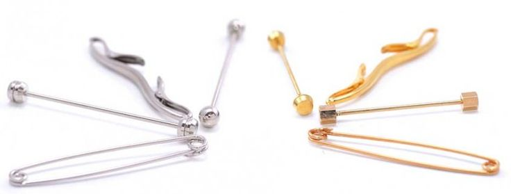 Collar Pin, Collar Bar & Clips Guide — Gentleman's Gazette