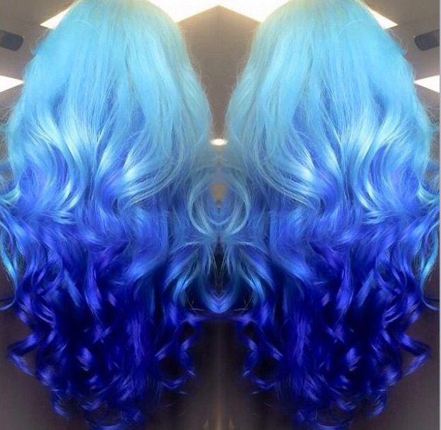blue hair color hair color pinterest follow me awesome and my hair - Blue Color Hair