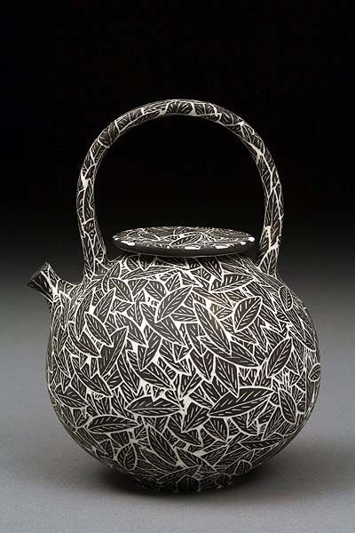 Becky and Steve LLoyd #ceramics #pottery bold design with small understated features // lovely voluminous shape