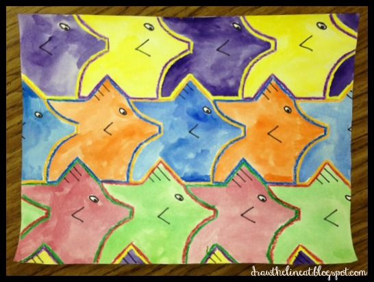 Draw The Line At: tessellations and complements