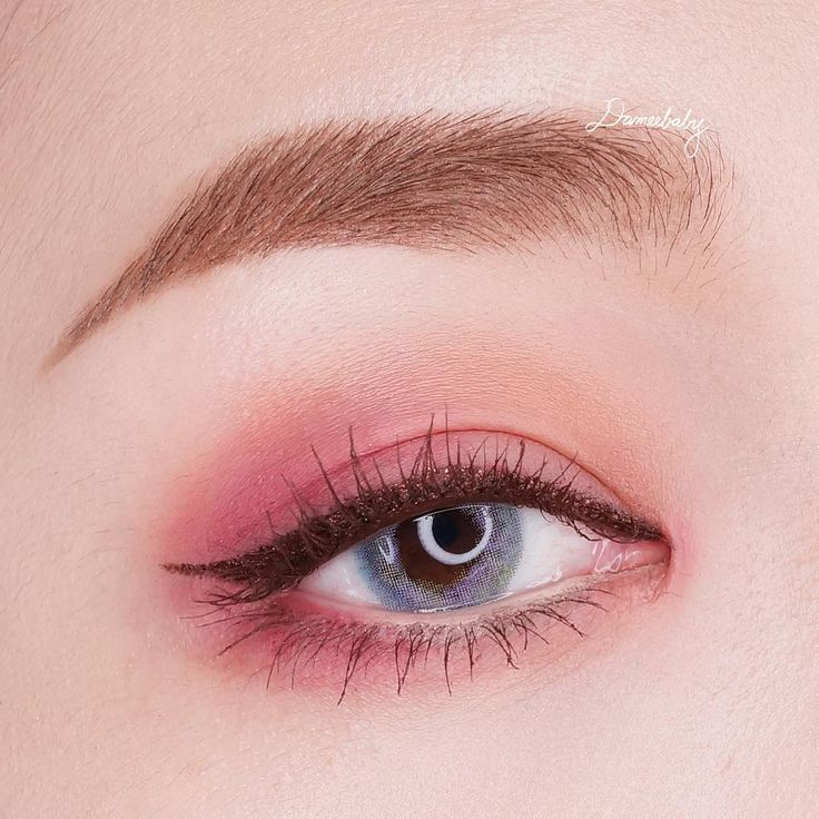 Korea Eye Make Up Look